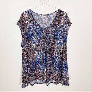 Show me your mumu swing floral top